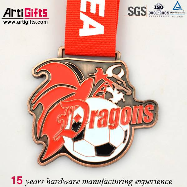 Best quality metal medallion copper customized logo