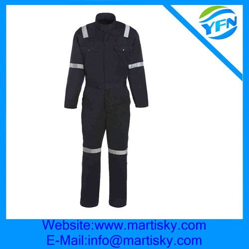 Safty Workwear Flame-Retardant Reflective Work Uniforms Made In China