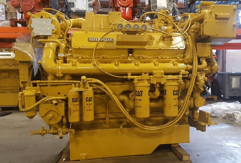 Caterpillar 3412 marine generator for sale
