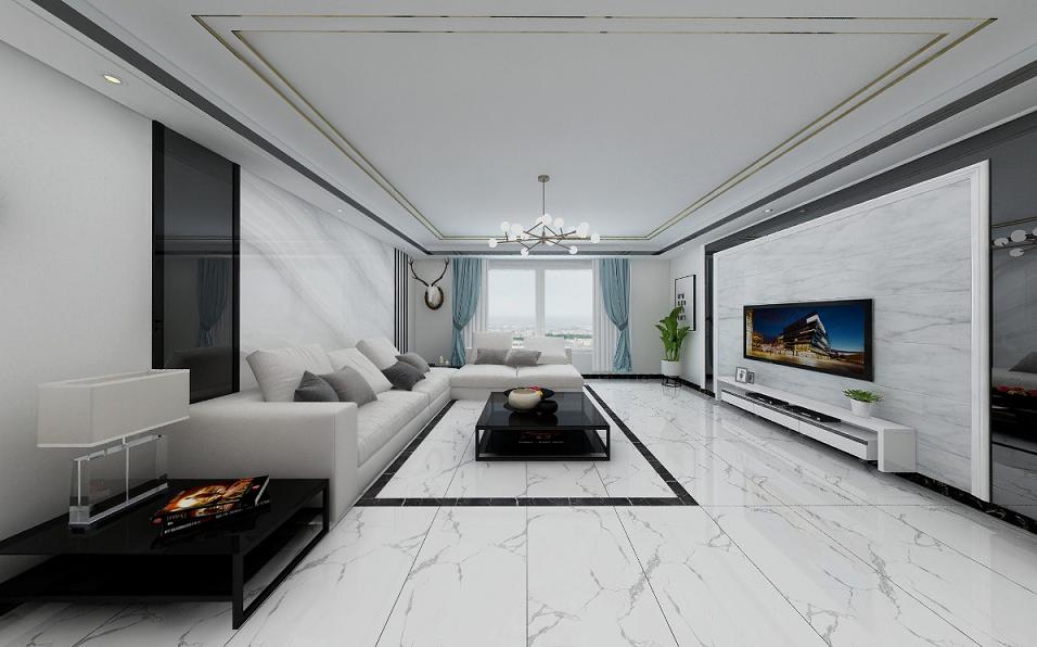 Full Glazed Porcelain Floor Tile Anion Full Body Marbleand Wall Tile for Home Decoration 600x1200mm