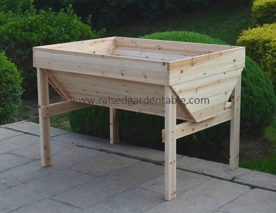 Cedar Wood Raised Garden Beds Backyard Vegetable Planting