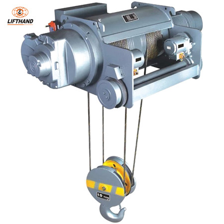 New Design Single Girder or Double Girder Hitachi Size 7.5t Electric Wire Rope/Steel Cable Lifti