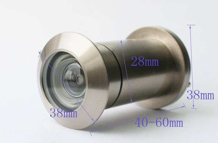 28mm Door Viewer Brass Material