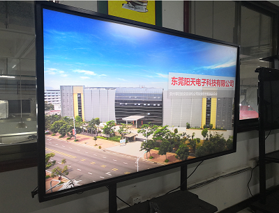 "49"" LCD display floor standing LCD digital signage for meeting"