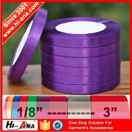 6 Years no complaint Good Price wholesale satin ribbon for graduation,wholesale ribbon satin,polyest