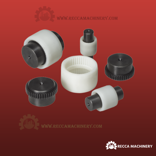 Toothed Gear Coupling - Nylon Sleeve Gear Coupling