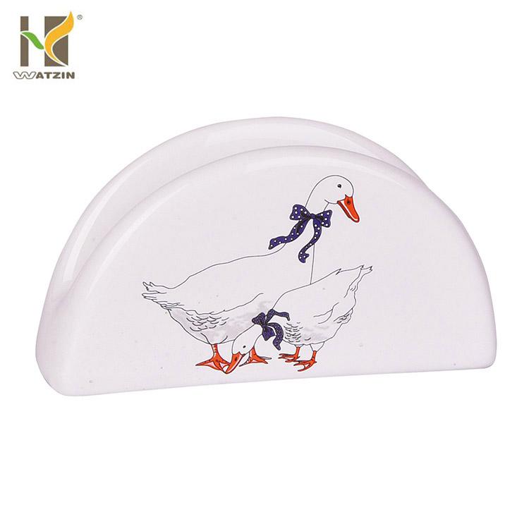 ceramic napkin holder for tableware