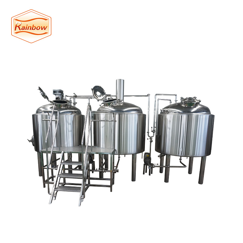 Beer equipment lauter tun with false bottom brewhouse system