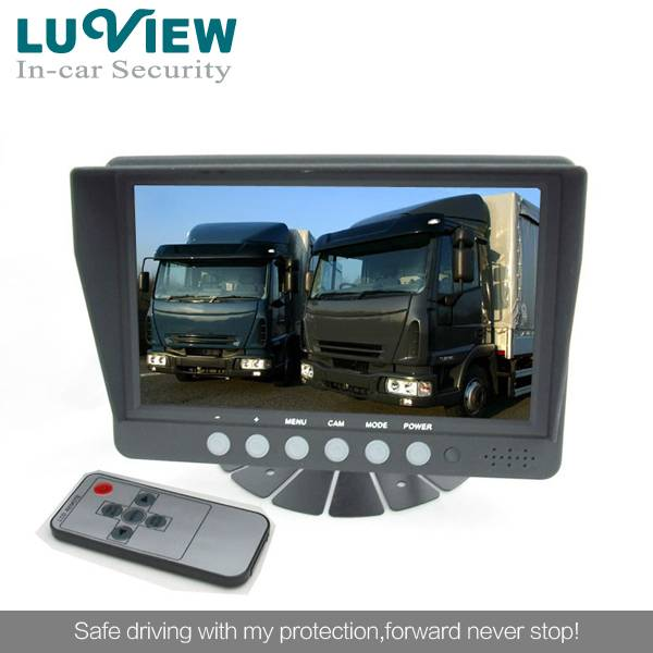 7inch TFT LCD Digital Screen Car Monitor with CE ,FCC rear view camera