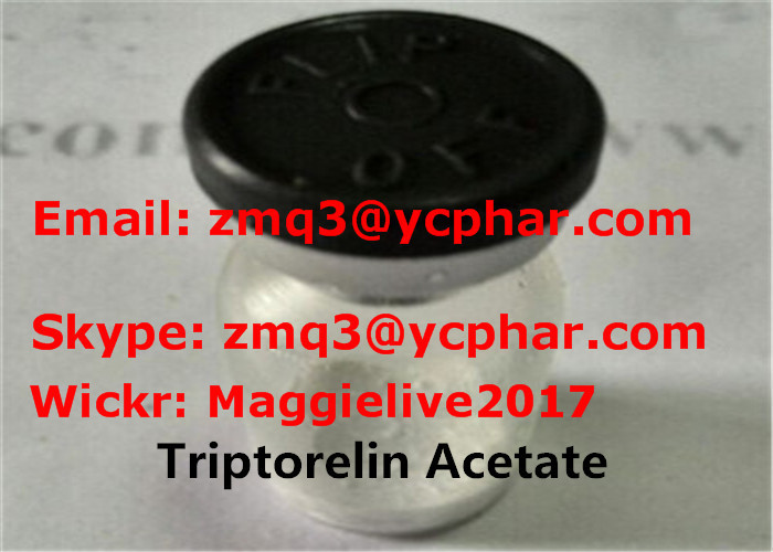 2mg Vial Triptorelin Acetate Peptide Steroids for Advanced Prostate Cancer