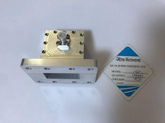 Waveguide Coaxial Adapter Wr137-SMA