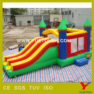 2017 the latest version of domestic inflatable bouncer slide
