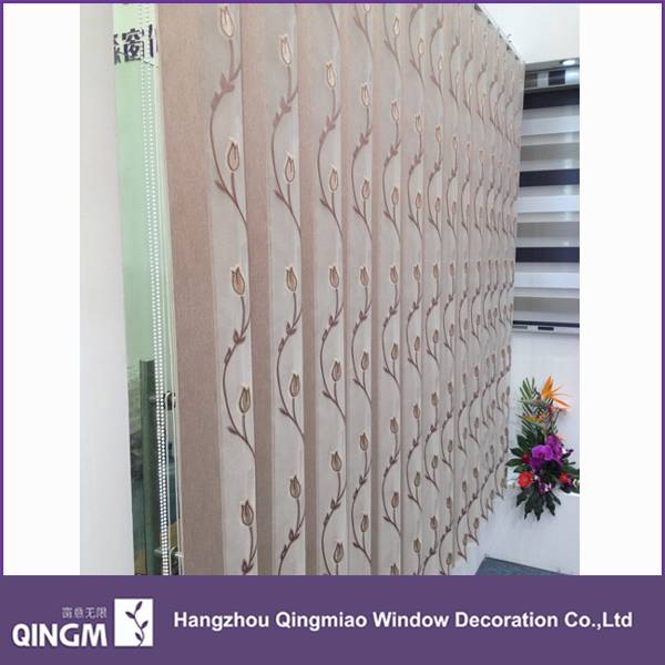 QINGM External Decorative Vertical Blinds/Shades Curtain