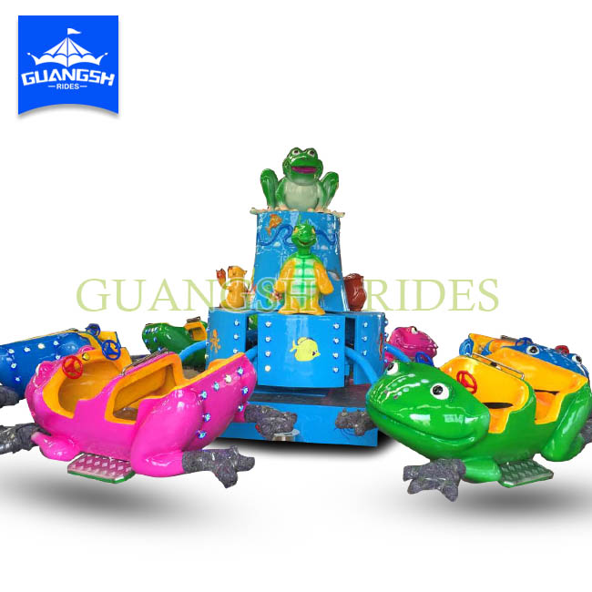 Amusement Park Indoor Game Machine Jumping Frog for Kids