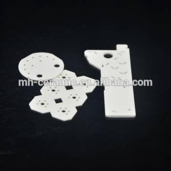 zirconium ceramic rounded porous ceramic substrate