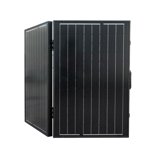 ECO-WORTHY 100W Mono Folding Solar Panel Charging 12V off Grid Battery Power for Boat Camp