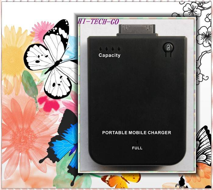 2800mAh External Battery Charger For iPod iPhone 3G 3GS