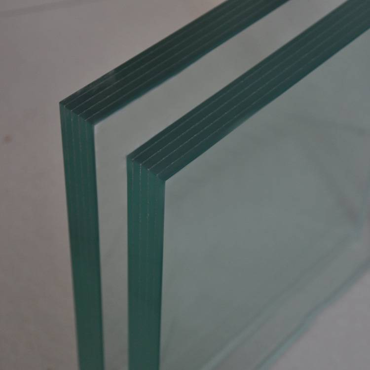 High quality safety laminated glass for curtain wall with high quality standard