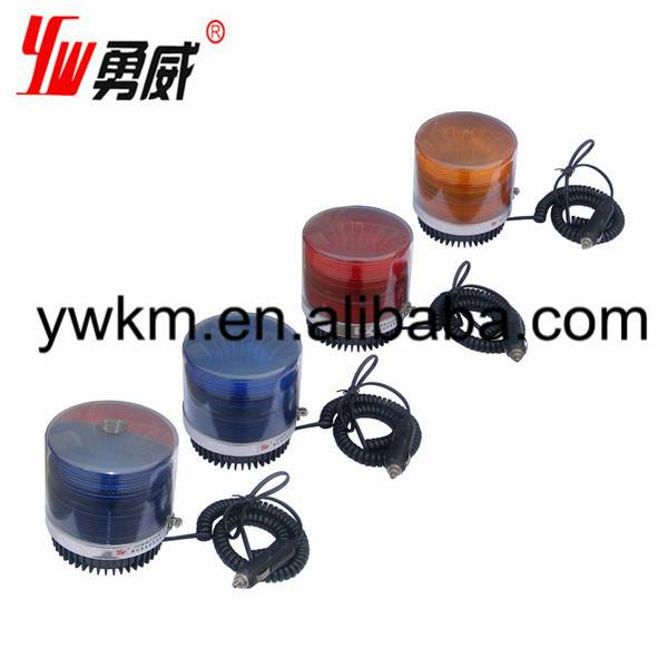 red police car magnetic beacon lights