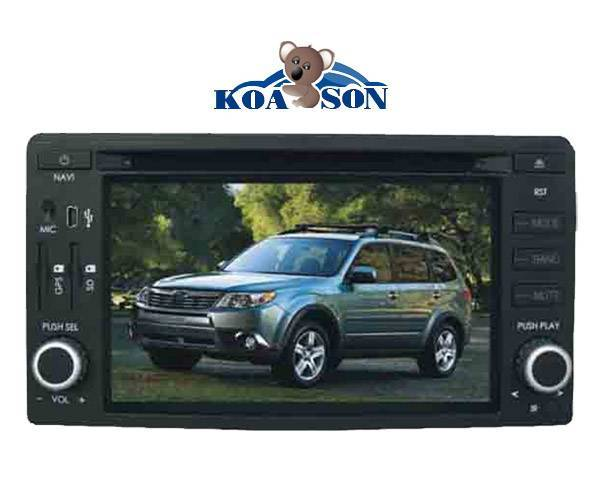 Two -Din Subaru Car DVD Player with 6.2-Inch Touch Screen/DTV(optional)/TMC(optional)/Radio/Bluetoot