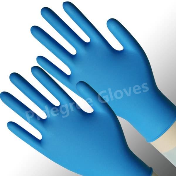 powder free nitrile examination gloves