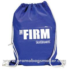 "Economy Personalized Drawstring Backpack -14.5""w x 17.5 h"