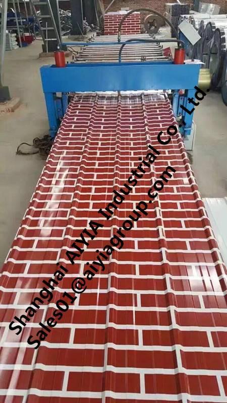 Brick color PPGI/PPGL/Pre-Painted Galvanized Steel/Color-Steel