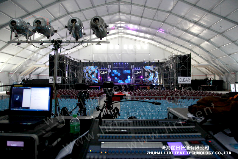 8000 People Large Polygon Concert Tent for Concert and Event Center