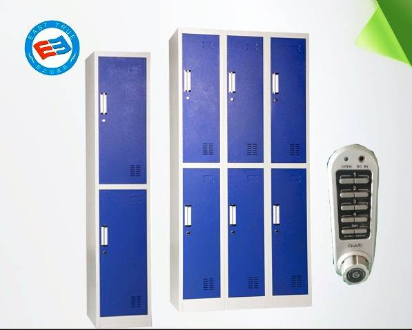 E-lock Six door steel locker Knock down Steel cabinet for home and office or school use locker