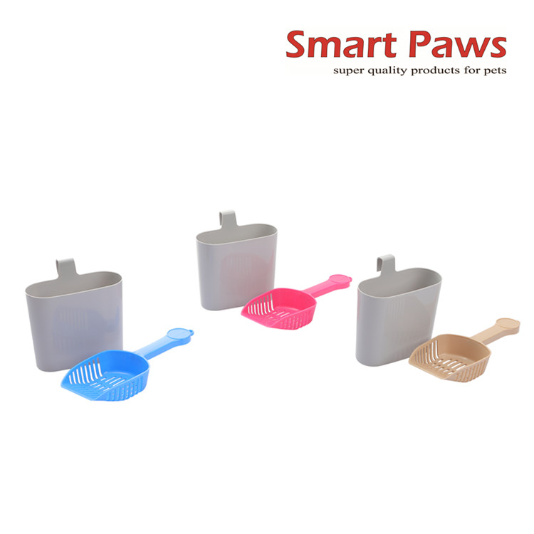 Smartpaws cat litter scoop with holder