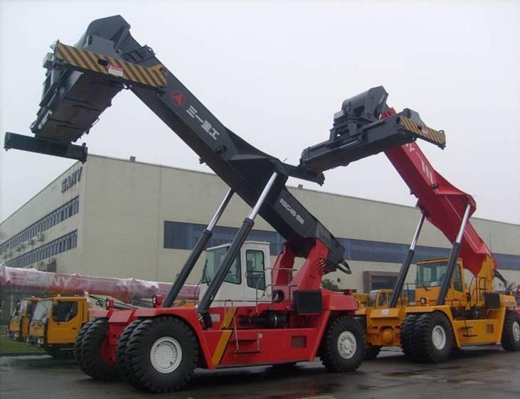 RSC45C reach stacker forklift