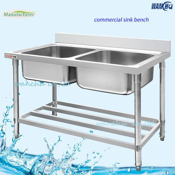 stainless steel sink table/kitchen sink