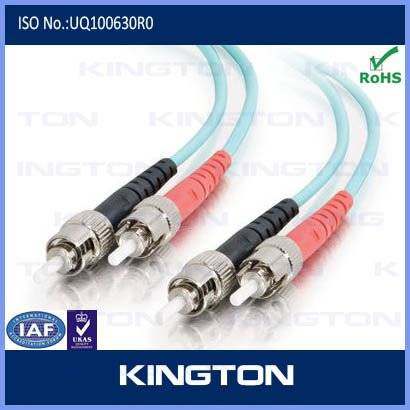 Duplex ST/APC ST/UPC Optic Fiber Patch Cord