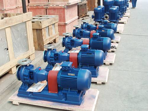 IH Stainless Steel Chemical Centrifugal Water Pump