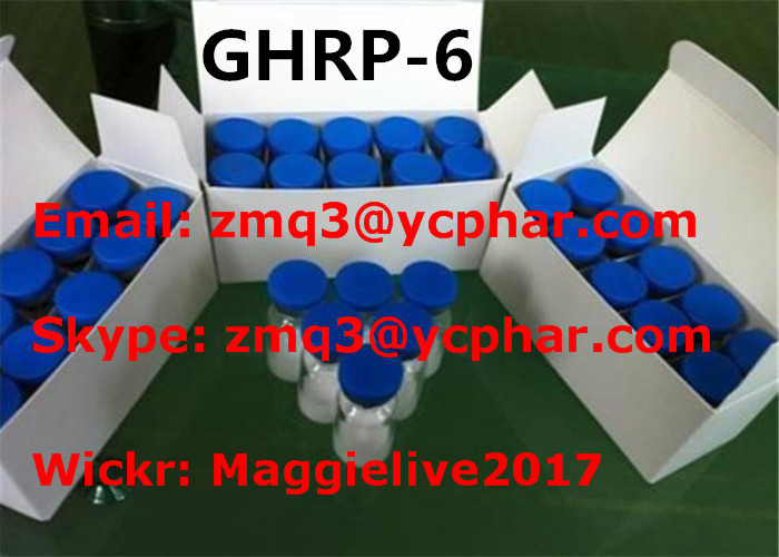 Peptide -6 GHRP-6 CAS 87616-84-0 Growth Hormone Peptides For Muscle Building