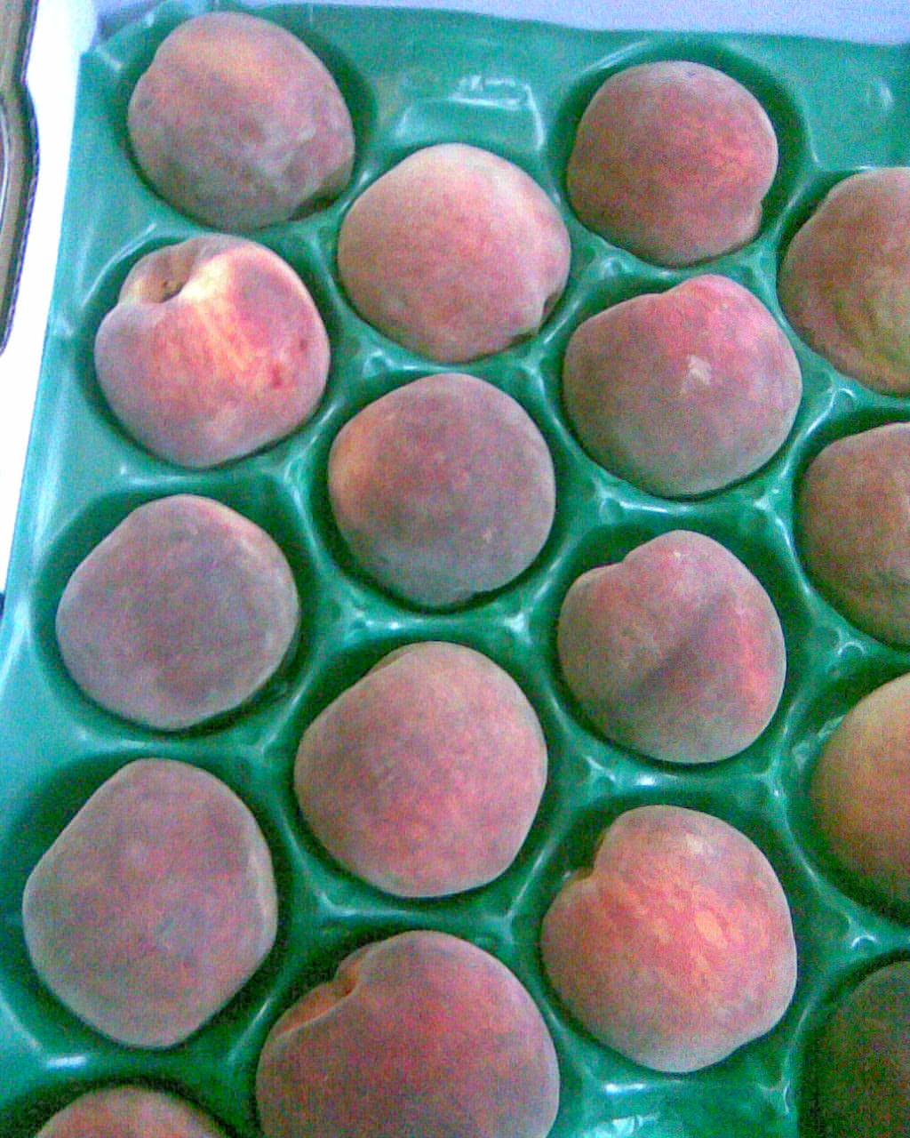Fresh Egyptian Peaches