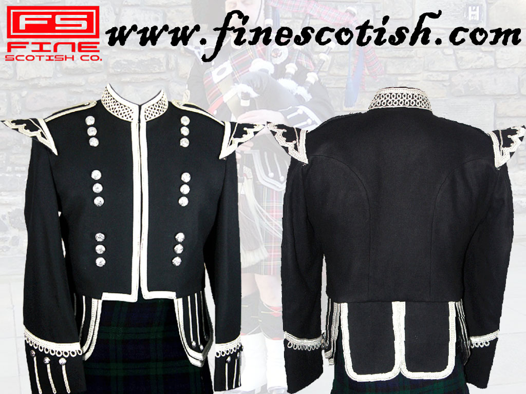 Military Doublet Jacket Black