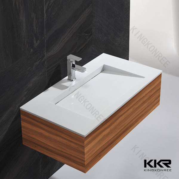 custom made cabniet basin wash hand basin with cabniet in one