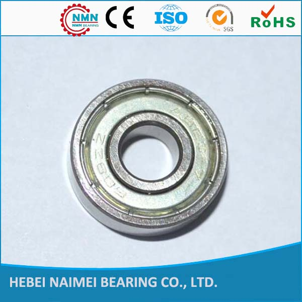 Double Shielded deep groove ball bearing 608rs bearing