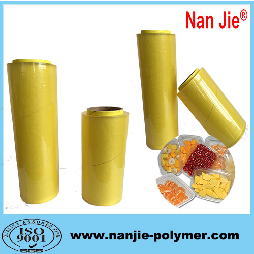 Nan Jie transparent PVC food grade cling film