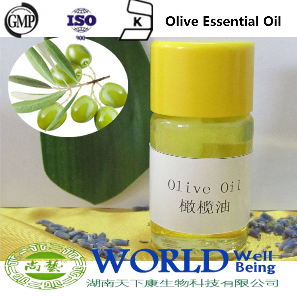 GMP Manufacturer Pure Extra Virgin Olive Oil Olive Essential Oil 100%Natural Organic Low Price Extra