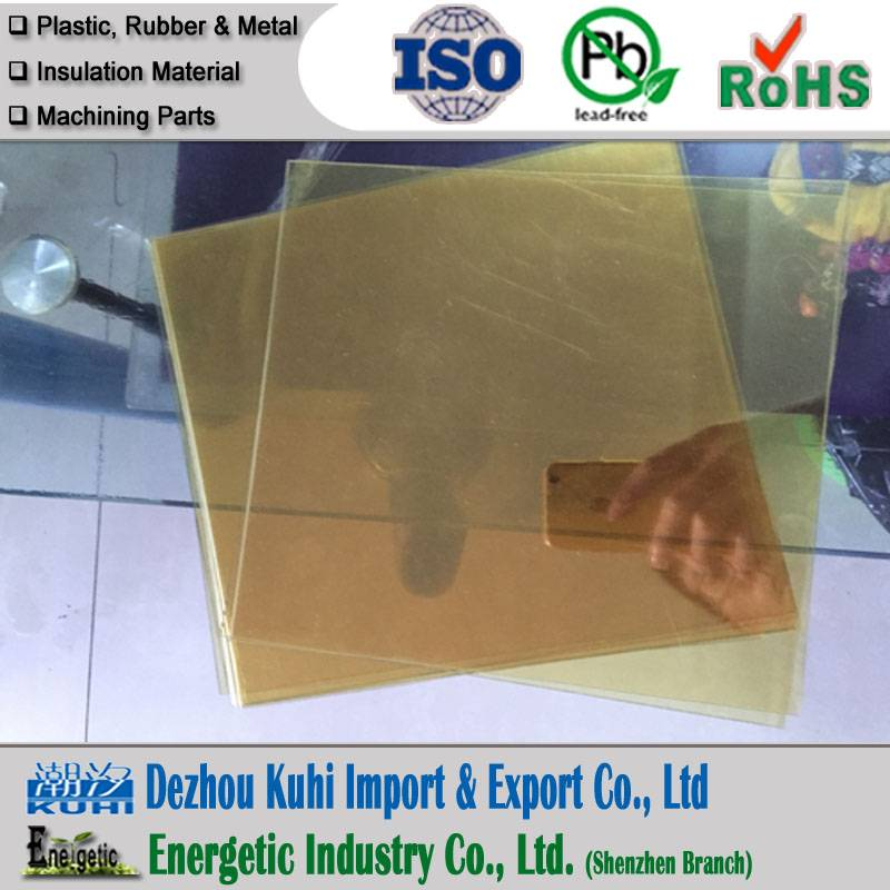 0.8mm Natural PEI sheet, ultem 1000 sheet in 0.8mm thickness
