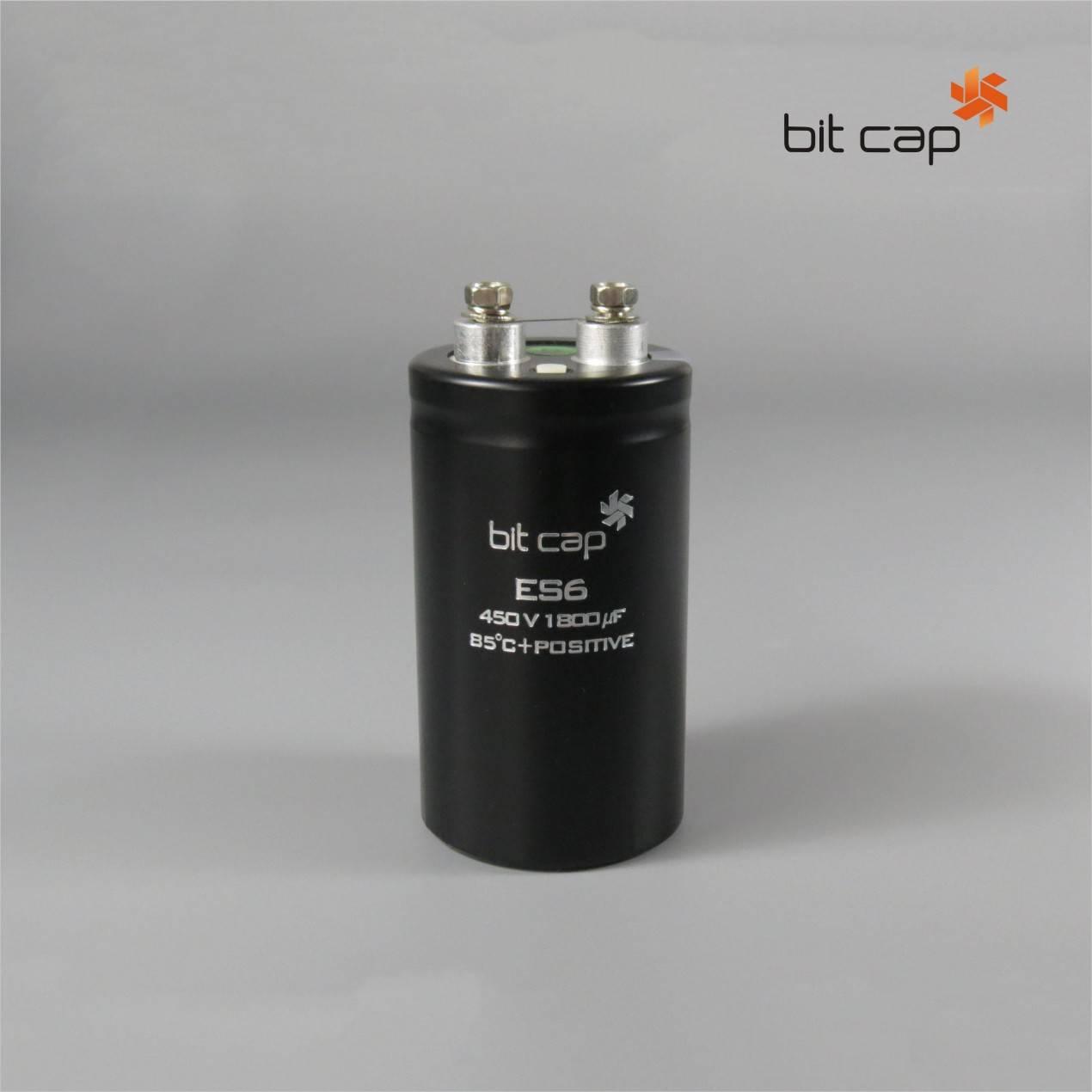 bit cap ES6  400V1800uf aluminum electronic capacitors