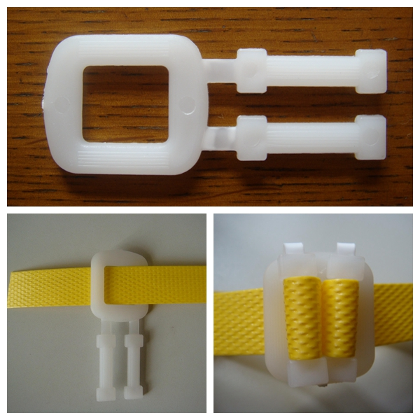 Plastic Buckle for Poly Strapping by Hand