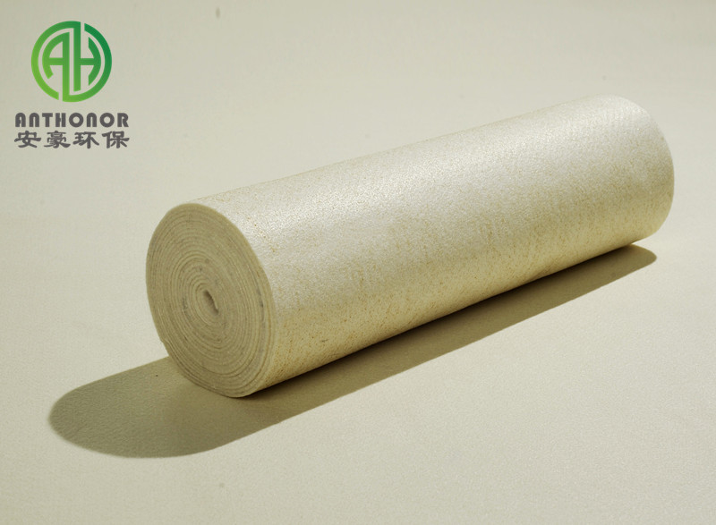 Good quality Acrylic(Pan) nonwoven needle felt for coal mails dust collector baghouse