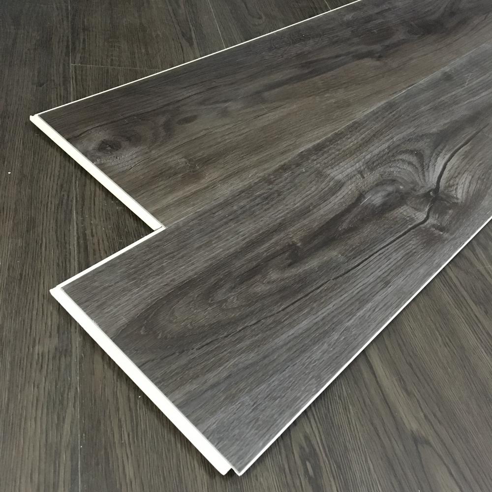 Plastic flooring tile SPC click floor thickness 4.0mm
