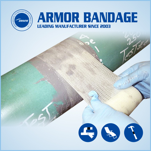 Oil Pipeline Repair Bandage Made in China Pipe Fix Tape Industrial Pipe Fix Wrap Tape