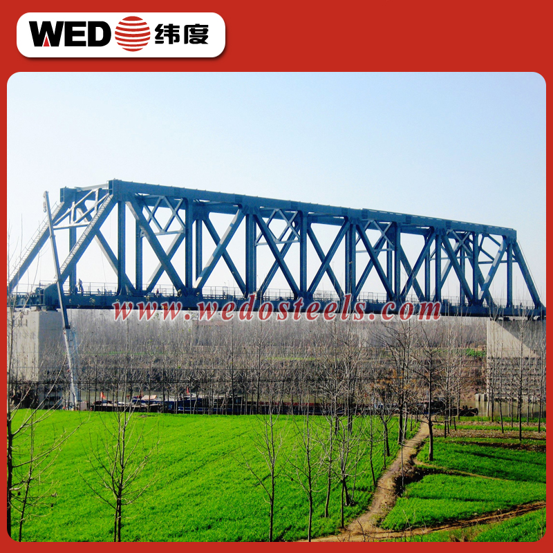 WEDO iso certificate railway steel bridge for sale
