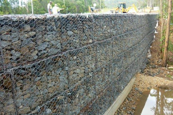 Gabion Basket for Retaining Wall for Sale