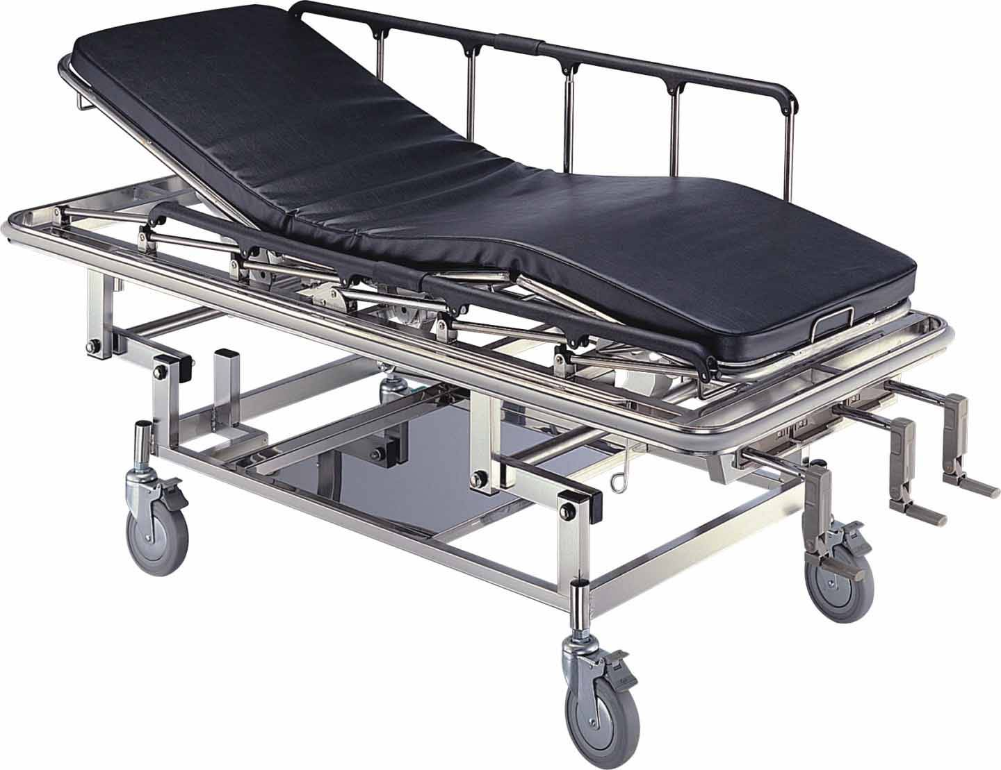 Emergency Stretcher Cart, Hospital, Trolley, Cart